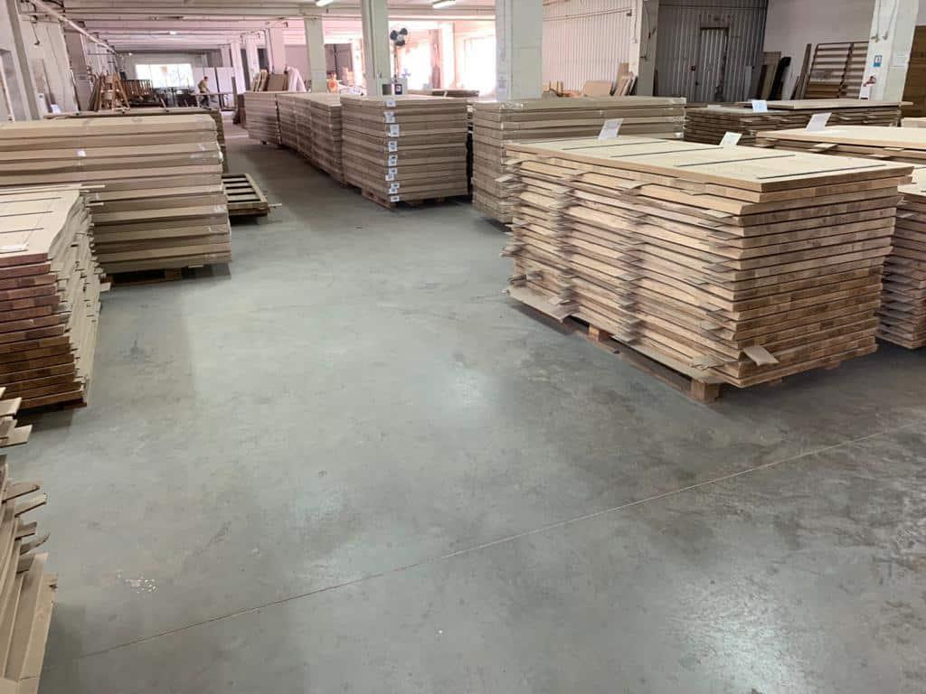 Eiken tafels mbs hout