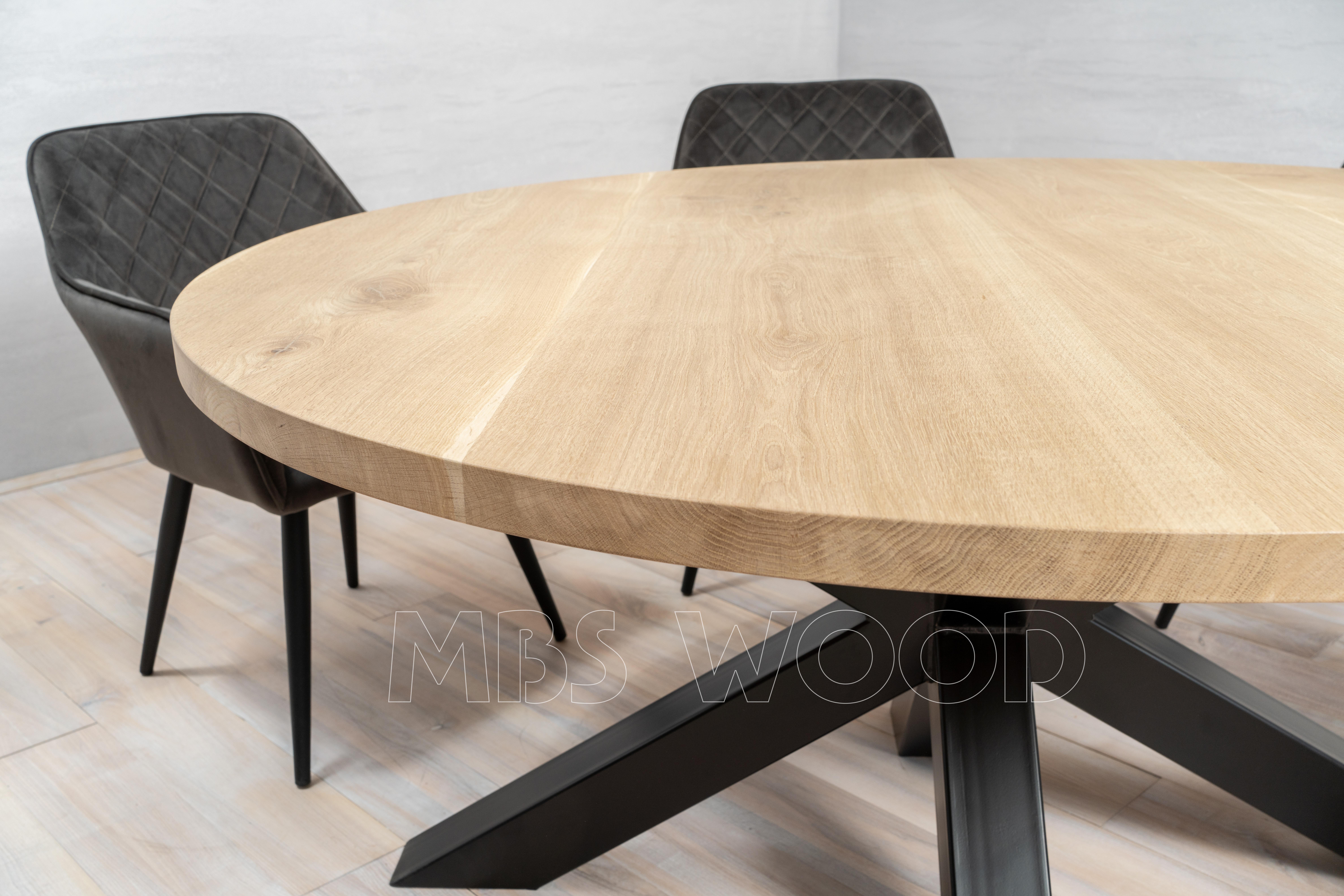 BEZ07409 Eiken tafelbladen