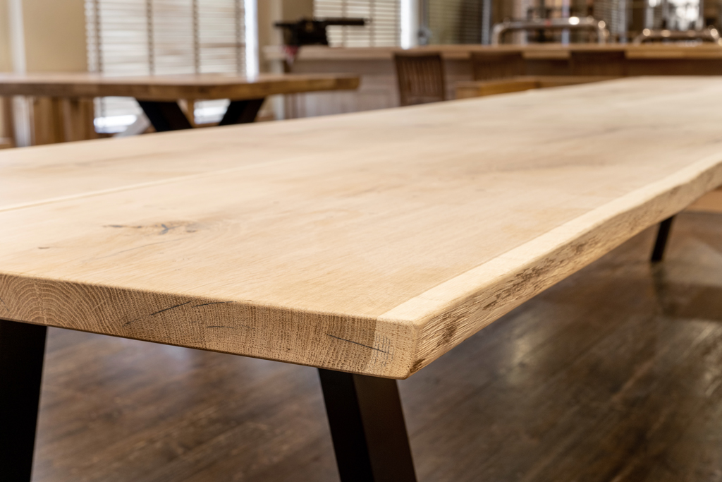 aangepaste houten tafelblad
