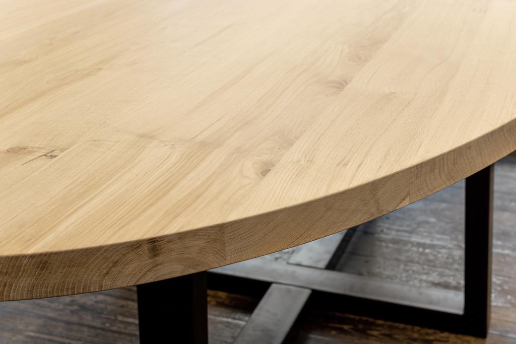 onafgewerkte houten tafelbladen te koop