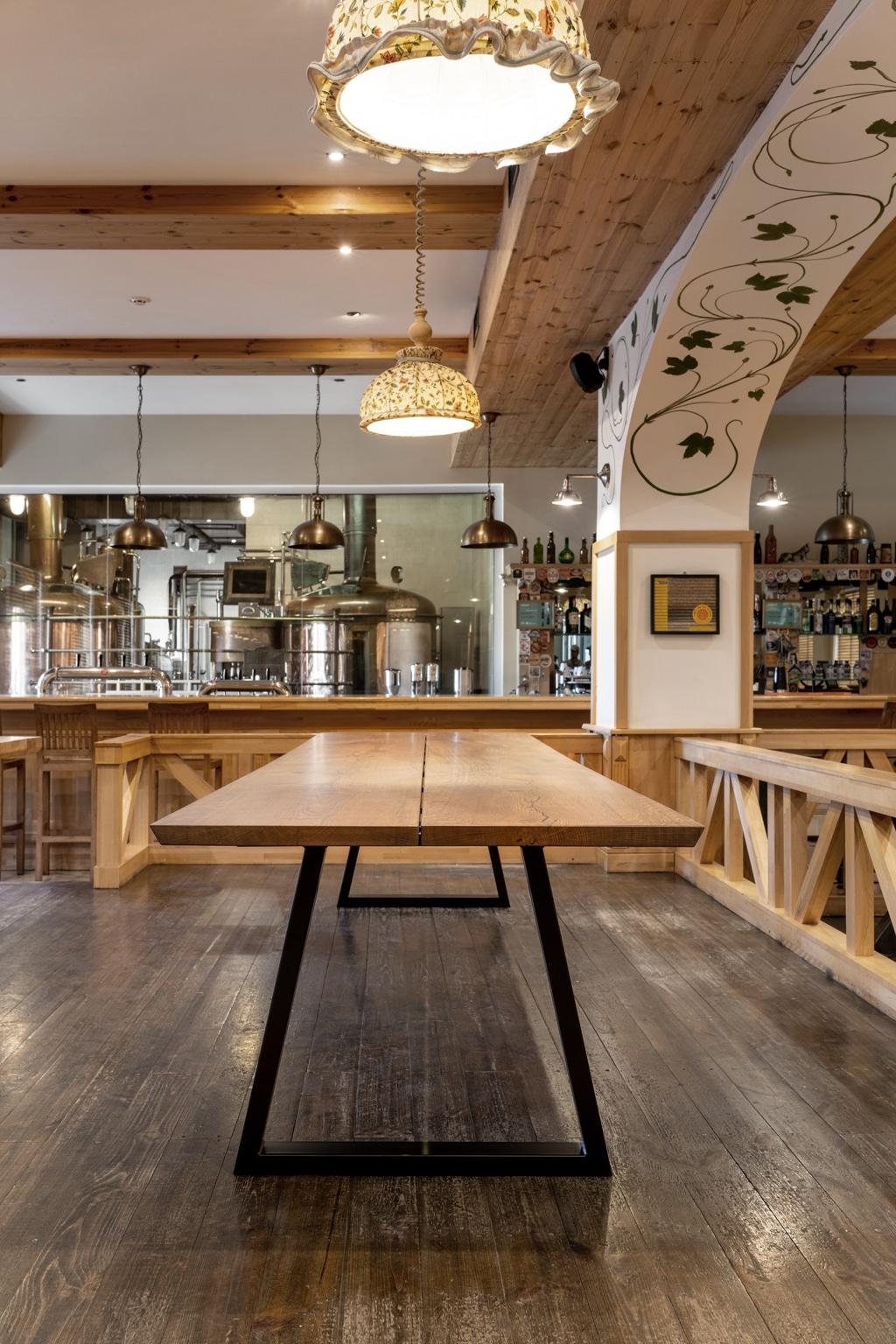 verkoop afgewerkt houten tafelblad