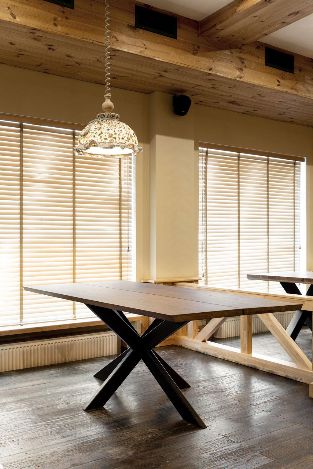 Eiken tafel 2 planken