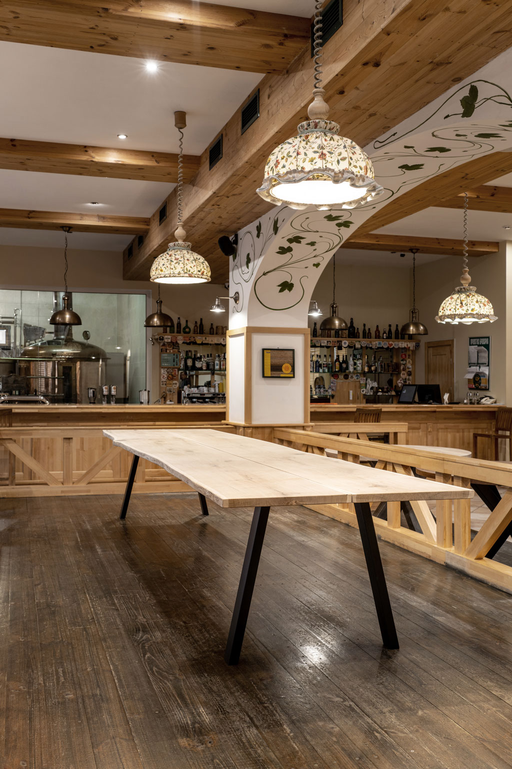 Eiken tafel Superior formaat