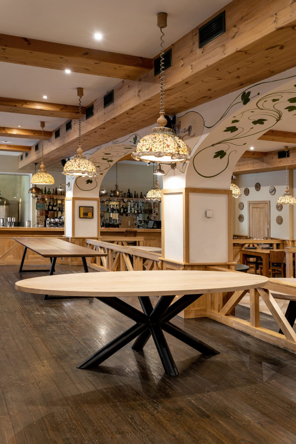 houten tafelblad rond