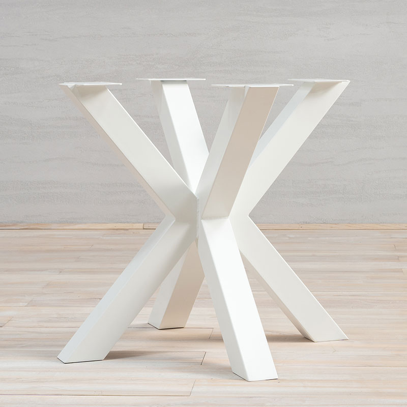 White Metal Table Legs Spider